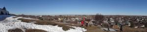 4. Переславль-Залесский. Вид на город и Плещеево озера с места возжигания столпа ДИВО 192 Про
